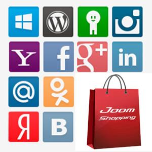 Плагин авторизации через социальные сети для JoomShopping